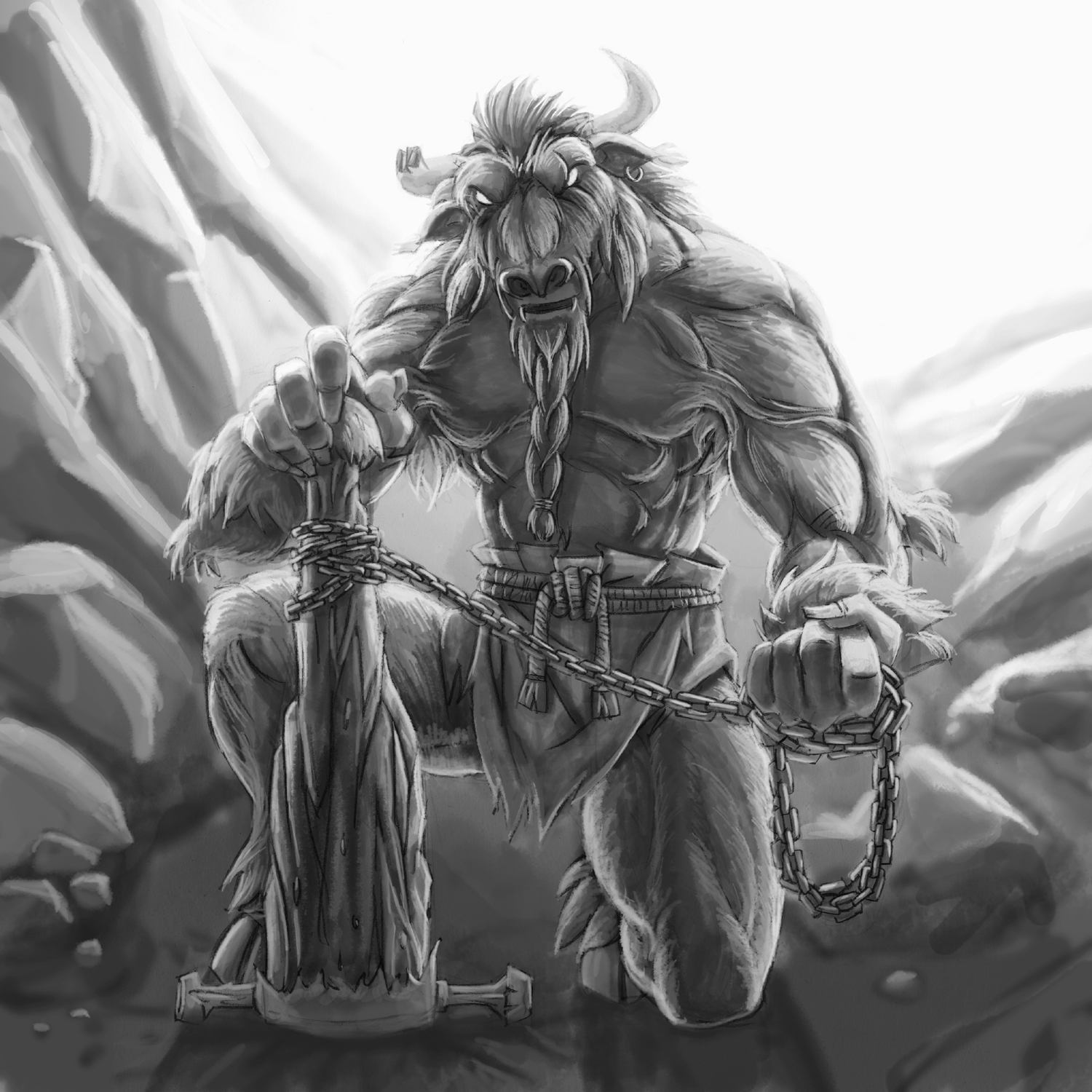 Photo albums of minotaurs in hard core  hentai videos